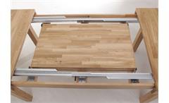 Esstisch Multi XL Funktionstisch Synchronauszug Massivholz Eiche geölt