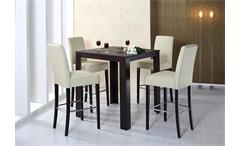Bartisch DALOR Tisch Bistrotisch in Buche kolonial 90x90 cm