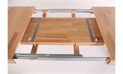 Esstisch Pedro 2XL Tisch in Kernbuche massiv lackiert ausziehbar 140-220 cm