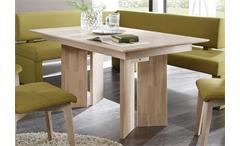 Esstisch Jona Esszimmertisch Tisch in Eiche Sonoma massiv lackiert 150 cm