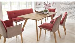 Esstisch Trondheim Esszimmertisch Tisch in Eiche natur massiv geölt 180x90 cm