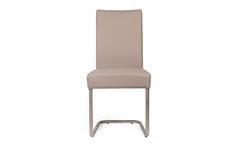 2er Set Schwingstuhl KADIRA in Kaiman Schlamm Stuhlset Stuhl mit Komfort-Sitz