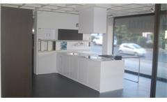 Einbauküche Schüller next125 Ausstellungsküche weiß Hochglanz E-Geräte