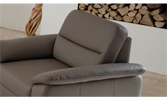 Sessel Polstersessel Relaxsessel Fernsehsessel Kalina Einzelsessel grau elefant