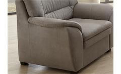 Sessel Ginger Sofa TV-Sessel Einzellsessel Polstermöbel in grau