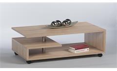 Couchtisch Mika Beistelltisch Wohnzimmertisch Tisch in Sonoma Eiche 105 cm