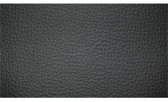 Garnitur 3 2 1 Sofagarnitur Polstergarnitur Hampton Echtleder schwarz Federkern