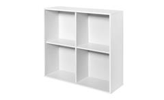 Hängeregal Boxy Regal Wandregal Büroregal Bücherregal in weiß Dekor 25cm tief