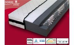 Taschenfederkern Matratze DORMISPRING 7 Zonen XXL 90x200