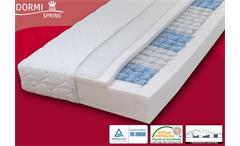 Taschenfederkern Matratze 7-Zonen DORMISPRING T100 H2 90x200