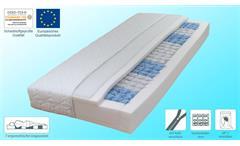 Matratze DormiSpring T100 Wendematratze mit 7 Zonen Taschenfederkern 90x200 cm