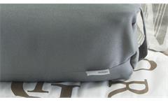 Reisekissen Wiebke Kissen Nackenkissen inkl. Aufbewahrungstasche in Stoff grau