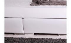 Boxspringbett BX750 in weiß mit Kopfteil 180x200 Bonellfederkern