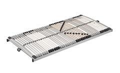 Lattenrost Classic L 4050 NV Lattenrahmen Rollrost silber weiß 6 Zonen 90x200 cm
