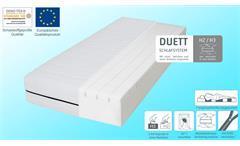 Matratze ComfortPur P1480 in weiß Komfortschaum 7-Zonen wendbar H2 H3 90x200 cm