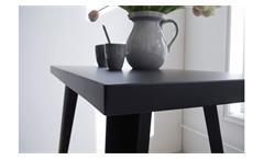 Bartisch Bistrotisch Stehtisch Esstisch Metall schwarz Industrie Vintage Design