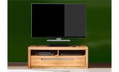 TV Lowboard ZINO Kern-Buche massiv Lamellen