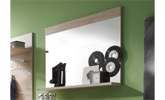 Wandspiegel CAMPUS San Remo Eiche und Weiß B 90 cm