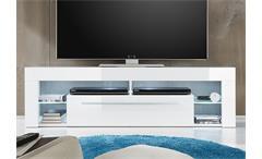 Lowboard Score TV-Board Kommode weiß Hochglanz