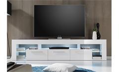 Lowboard Score Kommode TV-Board weiß Hochglanz