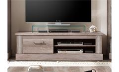 TV Board MONTREAL Lowboard in Canyon Monument Oak