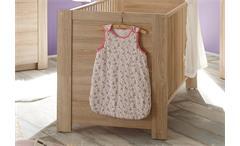 Babyzimmer Set 2 Carlotta Kinderzimmer komplett in Eiche sägerau hell 3 teilig