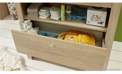 Wickelkommode Olivia Wickeltisch Kommode mit Aufsatz Babyzimmer in weiß 96x102