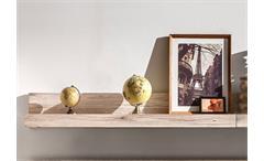 Wandboard Passat Regal in Eiche sand Nachbildung 115 cm breit