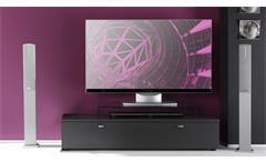 TV Lowboard TETIS graphit mit Schubkasten Breite 140cm