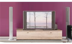 TV Lowboard TETIS Eiche San Remo mit Schubkasten Breite 140cm