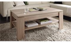 Couchtisch Universal Eiche Sägerau hell Beistelltisch Tisch Wohnzimmertisch