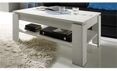 Couchtisch Universal Beistelltisch in Pinie Struktur weiß Tisch Wohnzimmertisch