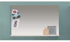 Wandspiegel Amanda Garderobenspiegel in weiß Hochglanz Spiegel Flur Garderobe
