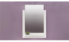 Bad Wandspiegel TTB-03 Spiegel in weiß Glanz
