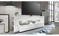 TV Lowboard ONYX in weiß Hochglanz TV-Board Lowboard TV-Möbel Fernsehtisch