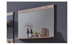 Wandspiegel Flurspiegel Garderobenspiegel Tailor Spiegel in Pale wood 90x69 cm