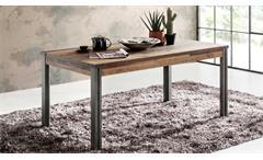 Couchtisch Wohnzimmer Tisch Prime Old Used Wood / Matera grau 110 cm
