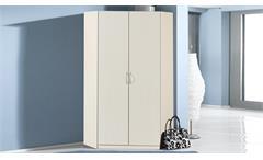 Eckschrank Sprint weißer Kleiderschrank mit 2 Türen 120x120 cm