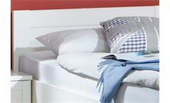 Bett Filou Kinderzimmer Kinderbett in Alpinweiß Dekor 90x200cm