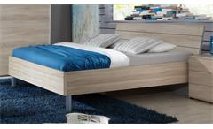 Futonbett EASY BEDS B Bett 180x200cm in Eiche Sägerau