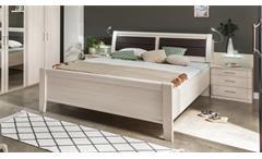 Bett LUXOR Schlafzimmer in Polar Lärche 180x200 cm
