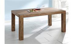 Esstisch YOGA Tisch Sheesham massiv 200x100 Wolf Möbel