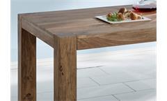 Esstisch Massivholz Esszimmertisch Yoga Tisch Sheesham natur 200x100 Wolf Möbel