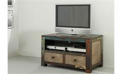 TV Board GOA von Wolf Möbel in Massivholz Mango