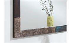 Wandspiegel Holzspiegel Flurspiegel Goa Rahmen Mango massiv 135x70 Wolf Möbel