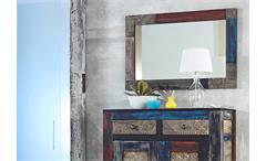 Garderobenspiegel Flurspiegel Wandspiegel Goa Massivholz Mango 90x60 Wolf Möbel