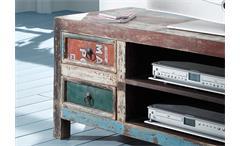 Lowboard Himalaya 3737 TV Board old recycled wood mehrfarbig von Wolf Möbel