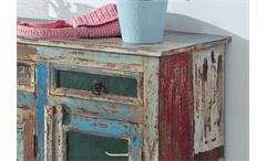 Kommode Himalaya 3738 Anrichte old recycled wood mehrfarbig von Wolf Möbel