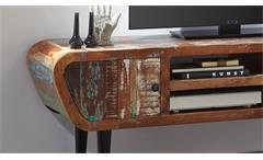 Lowboard Himalaya Retro 3761 TV-Board old recycled wood mehrfarbig Wolf Möbel