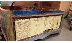 Truhe Himalaya Altholz 3704 Kiste old recycled wood mehrfarbig von Wolf Möbel